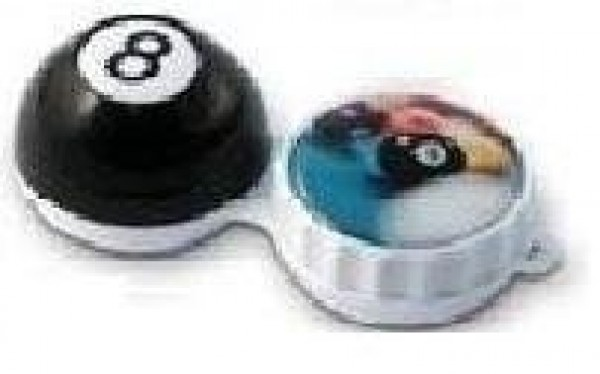 Funky 8 Ball 3D Contact Lens Storage Case