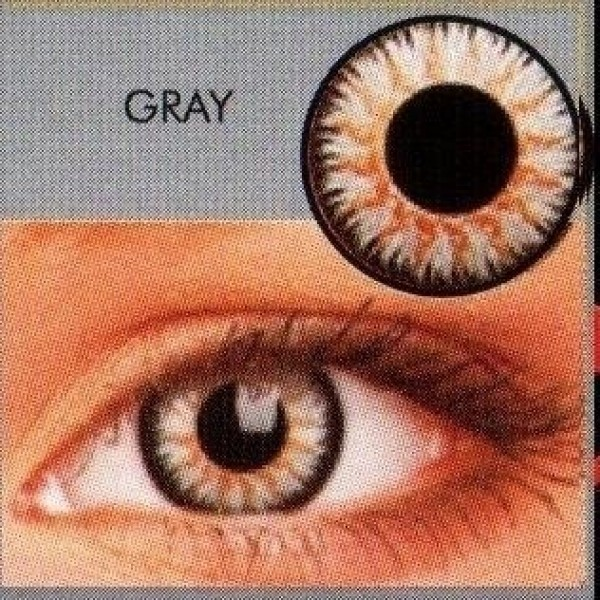 Glamour Grey Coloured Contact Lenses (3Month Lenses)