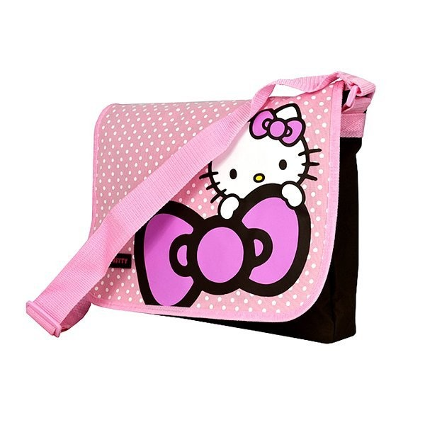 Hello Kitty Dots Messenger Bag