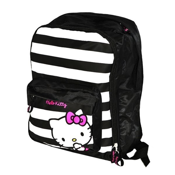 Hello Kitty Striped Backpack