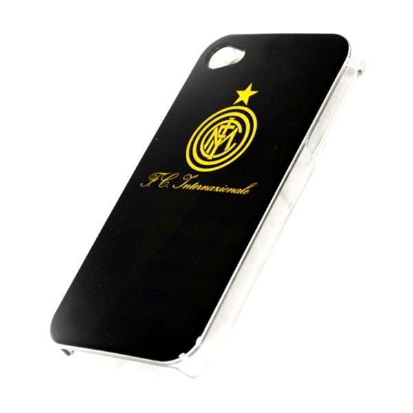 Inter Milan iPhone 4/4S Hard Phone Case - Black