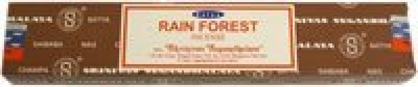 Rain Forest 15 Gram Pack Of Satya Nag Champa Incense Sticks