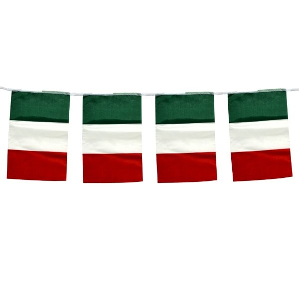 Italy 5M Bunting Flag (12pc)
