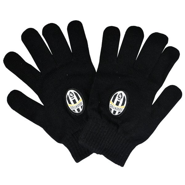 Juventus Knitted Gloves - Black