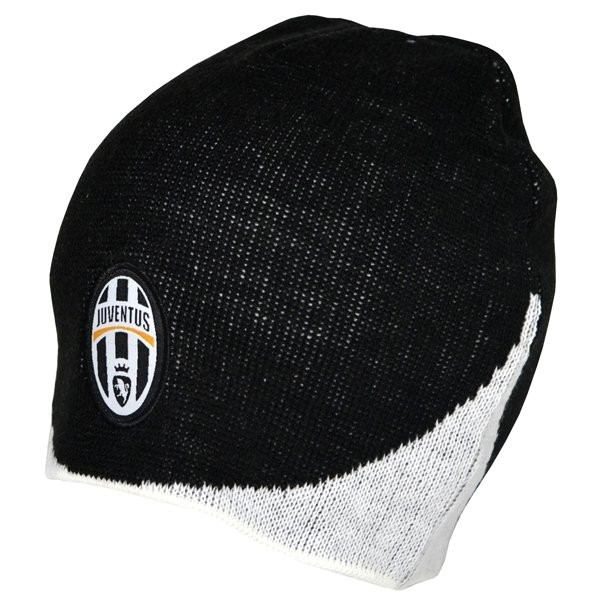 Juventus Wave Knitted Beanie Hat