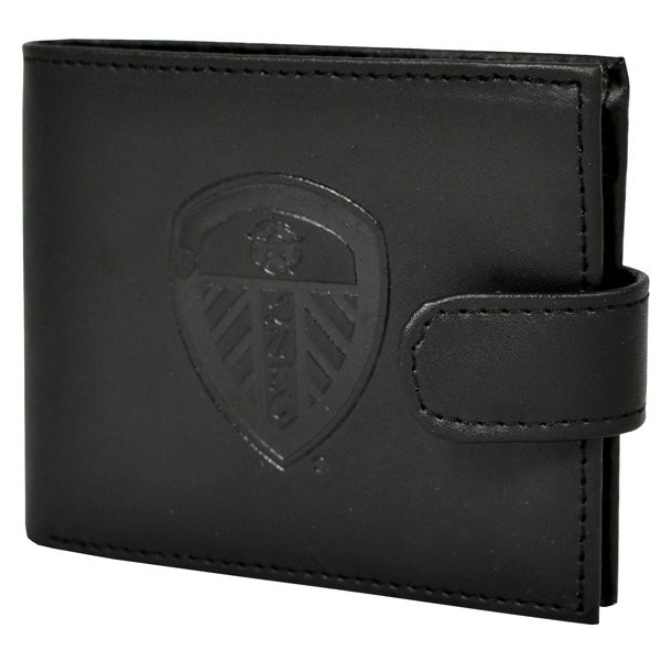 Leeds United Crest Embossed Leather Wallet