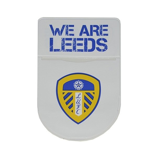 Leeds United Round Tax Disc Holder