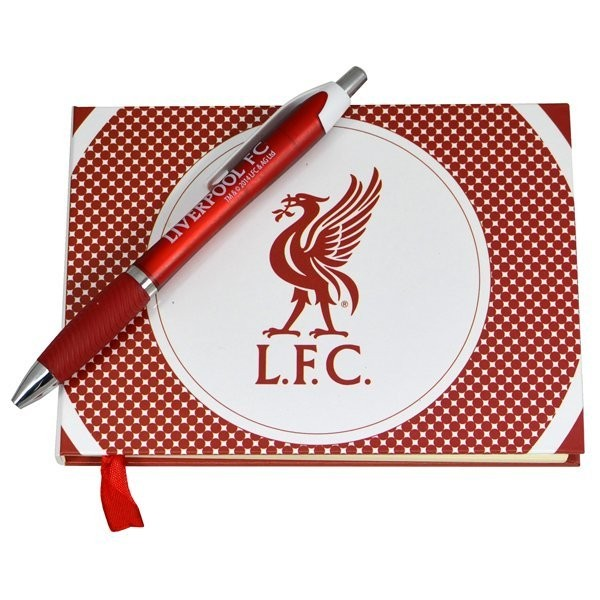Liverpool Autograph Book & Pen Set