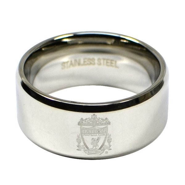 Liverpool Crest Band Ring - Small