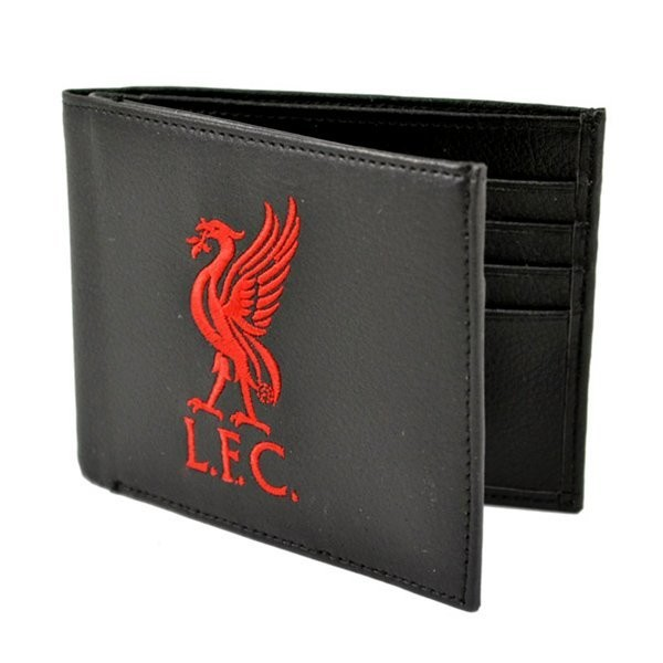 Liverpool Crest Embroidered PU Leather Wallet