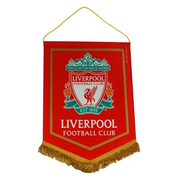 Liverpool Crest Large Pennant