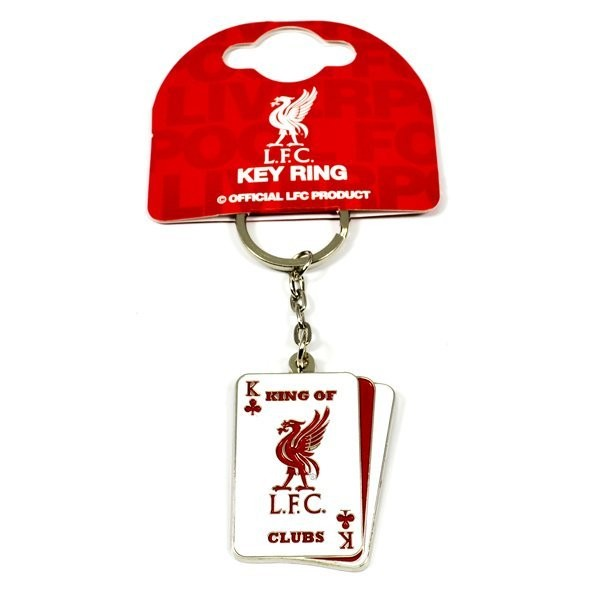Liverpool Playing Cards Keyring