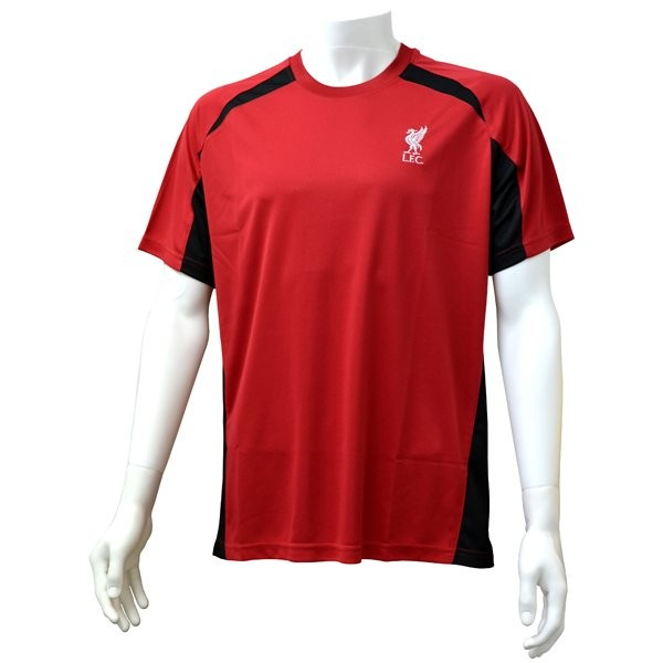 Liverpool Red Panel Mens T-Shirt - S