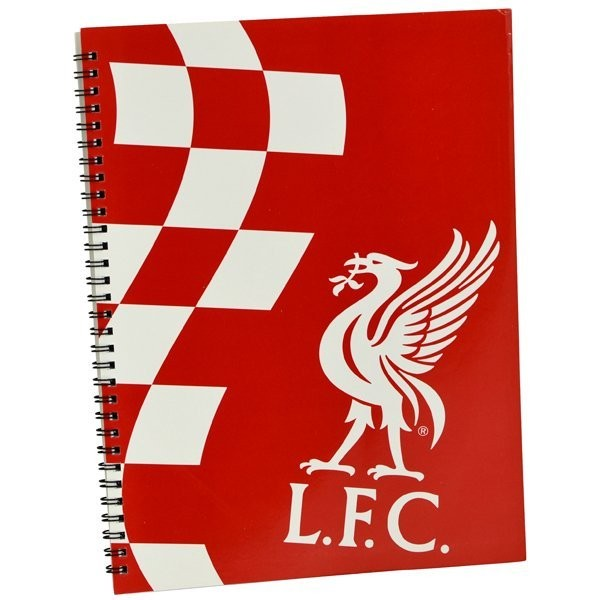 Liverpool Soft Cover A4 Note Book