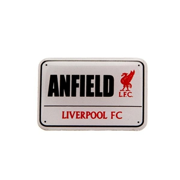 Liverpool Street Sign Pin Badge