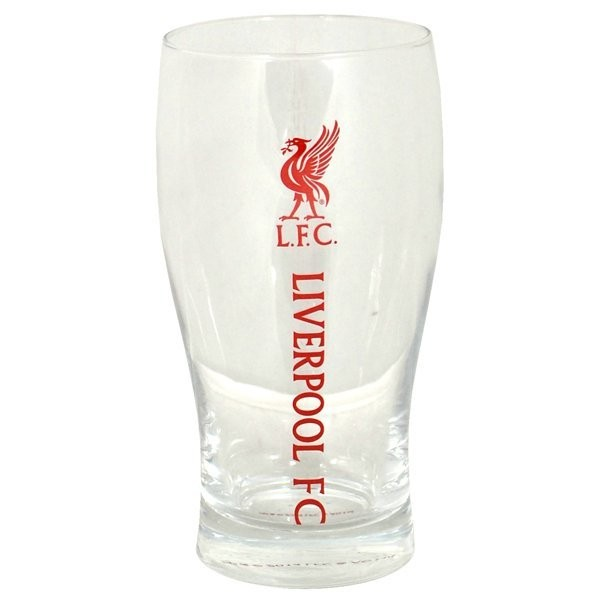 Liverpool Wordmark Crest Pint Glass
