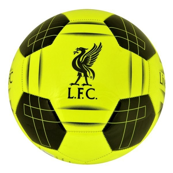 Liverpool Yellow Fluo Football - Size 5