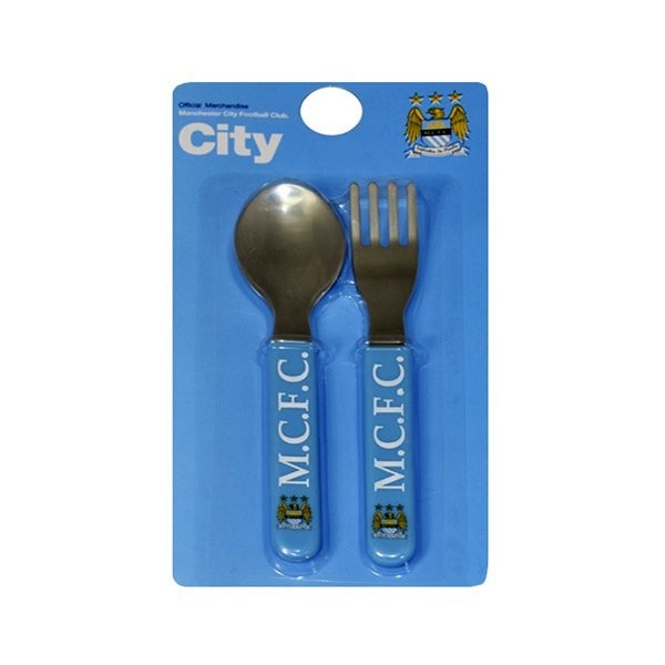 Manchester City 2PC Cutlery Set