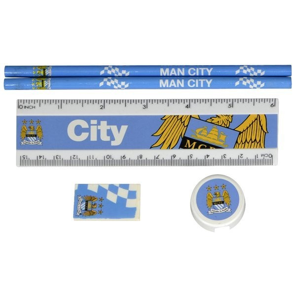 Manchester City Core Stationery Set