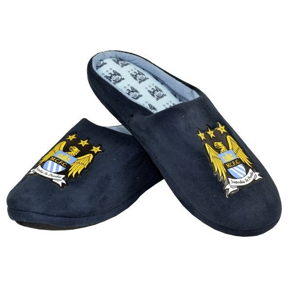 Manchester City Defender Slippers (9-10)