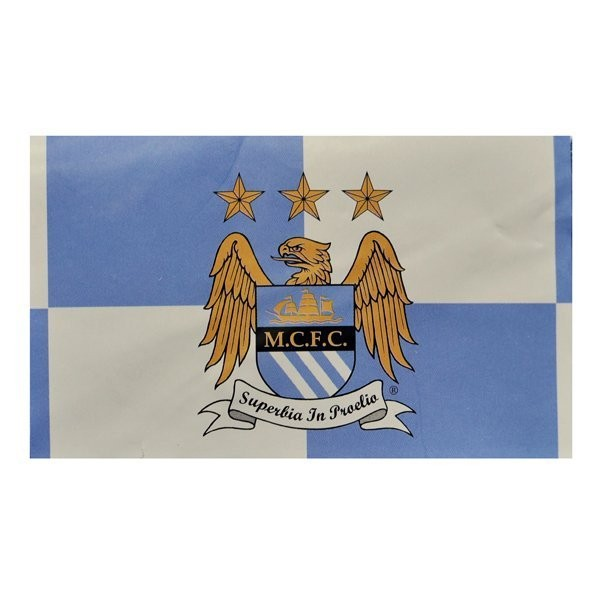 Manchester City Quarters Flag