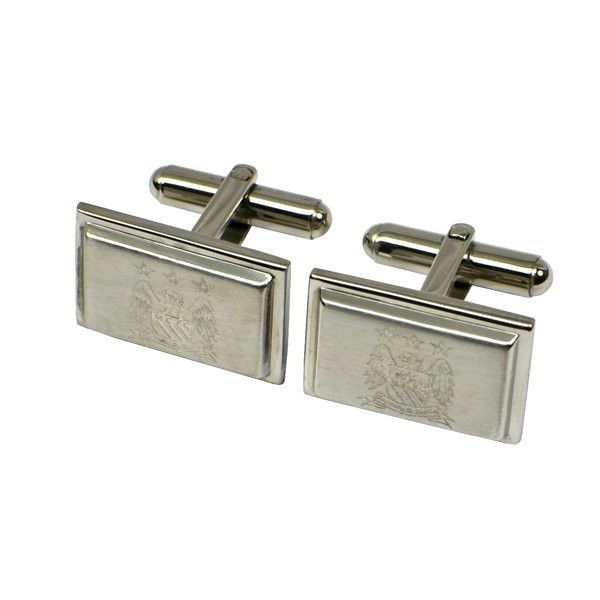 Manchester City Stainless Steel Cufflinks