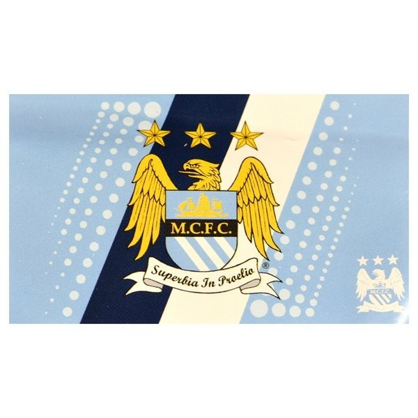 Manchester City Stripe Flag