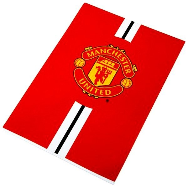 Manchester United A5 Writing Pad