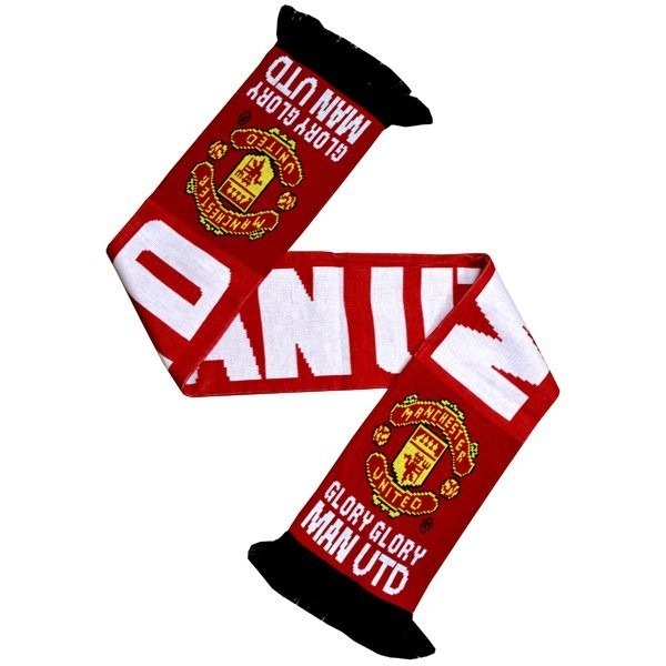 Manchester United Glory Glory Scarf