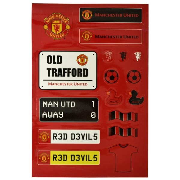 Manchester United Kids Sticker Set