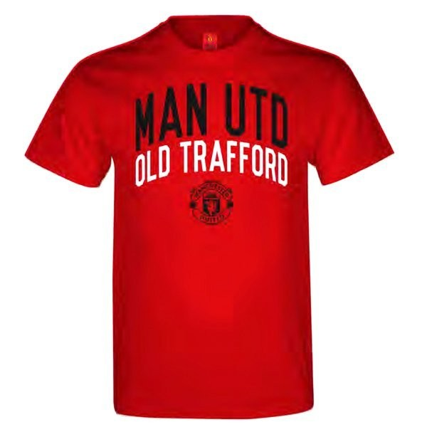 Manchester United Mens T-Shirt - S