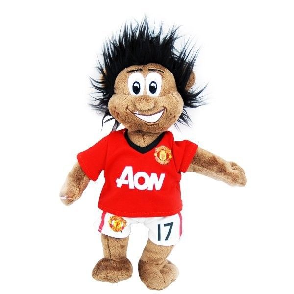Manchester United Nani Mascot Bear - Black