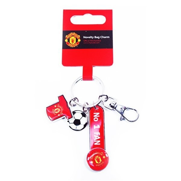 Manchester United No1 Fan Bag Charm