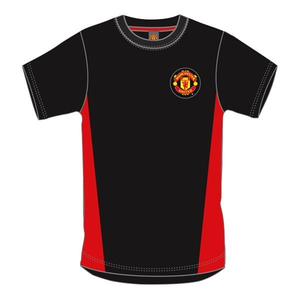 Manchester United Red Crest Mens T-Shirt - L