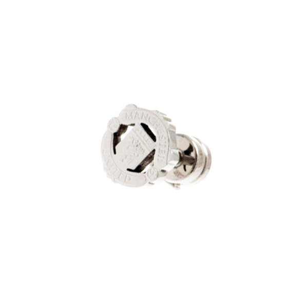 Manchester United Stainless Steel Cut Out Stud Earring