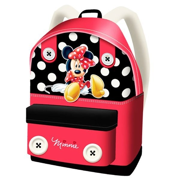 Minnie Mouse Button Backpack