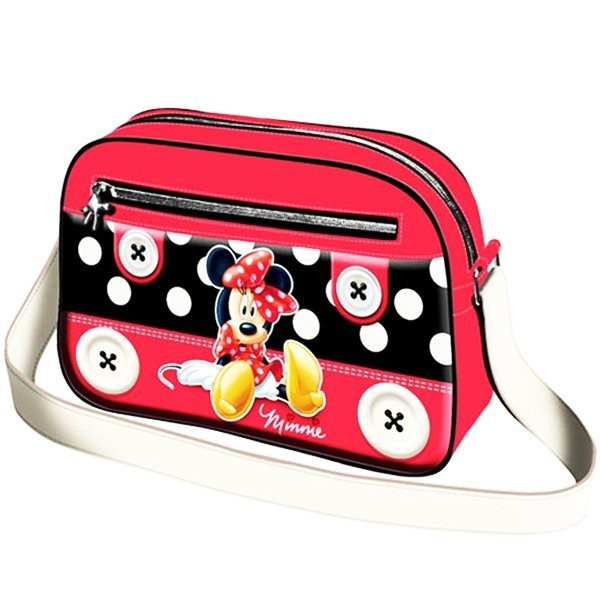 Minnie Mouse Small Button Shoulder Bag