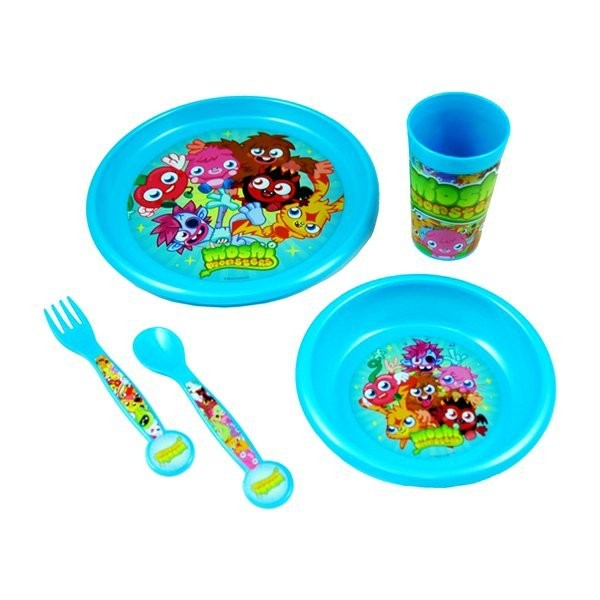 Moshi Monsters 5PC Dinner Set