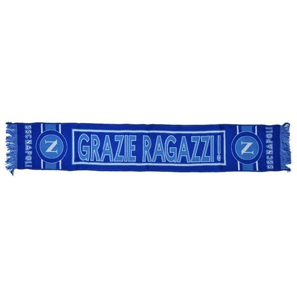 Napoli SSC Embroidered Scarf