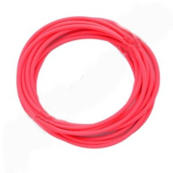 Set Of 12 Neon Pink Gummy Band Bracelets