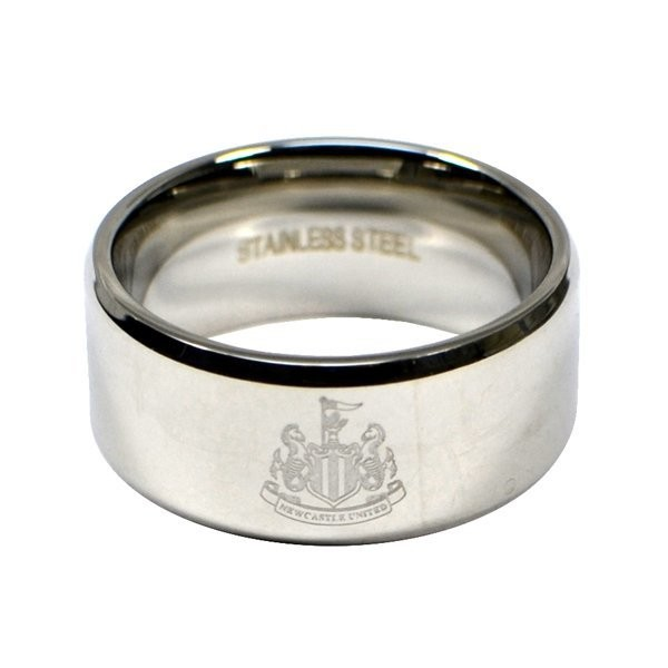 Newcastle United Crest Band Ring - Medium