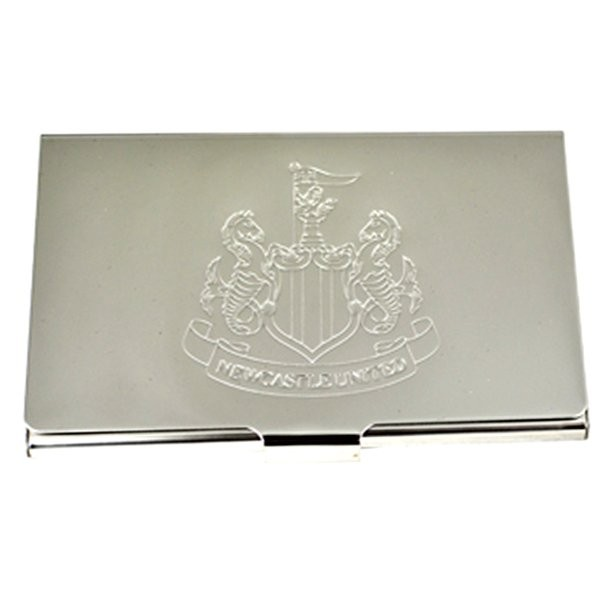 Newcastle United Crest Embossed Business Card Holder