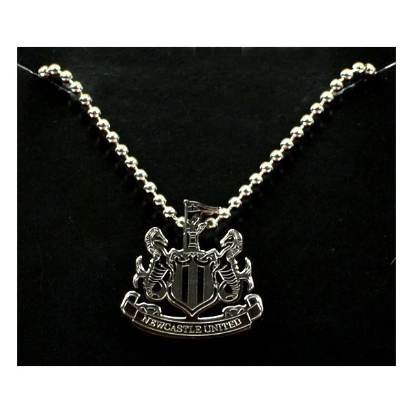 Newcastle United Stainless Steel Crest Pendant/Chain