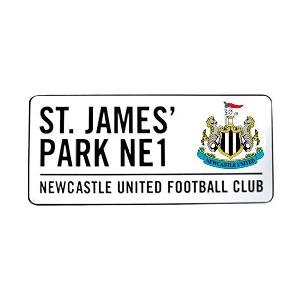 Newcastle United Street Sign