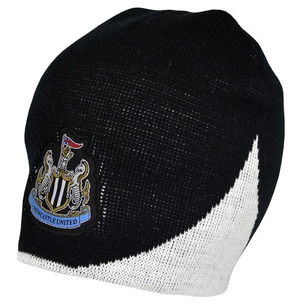 Newcastle United Wave Knitted Beanie Hat