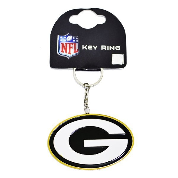NFL Green Bay Packers Crest Keyring