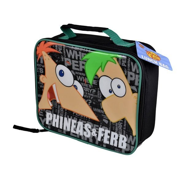 Phineas & Ferb Lunch Bag