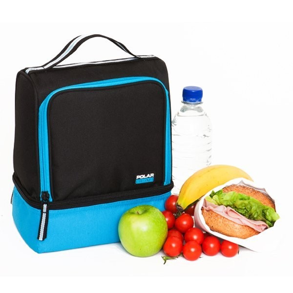 Polar Gear Active Lunch 2 Compartment Turquoise