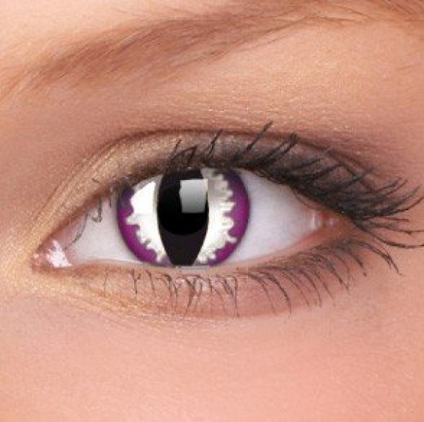 Purple Dragon Crazy Colour Contact Lenses (1 Year Wear)