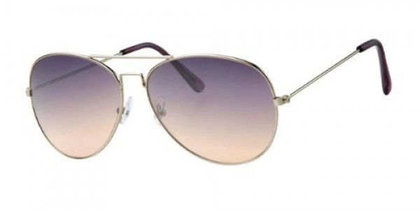 womens Aviator Style Sunglasses Shades UV400 Protection Purple To Brown Fade a30101